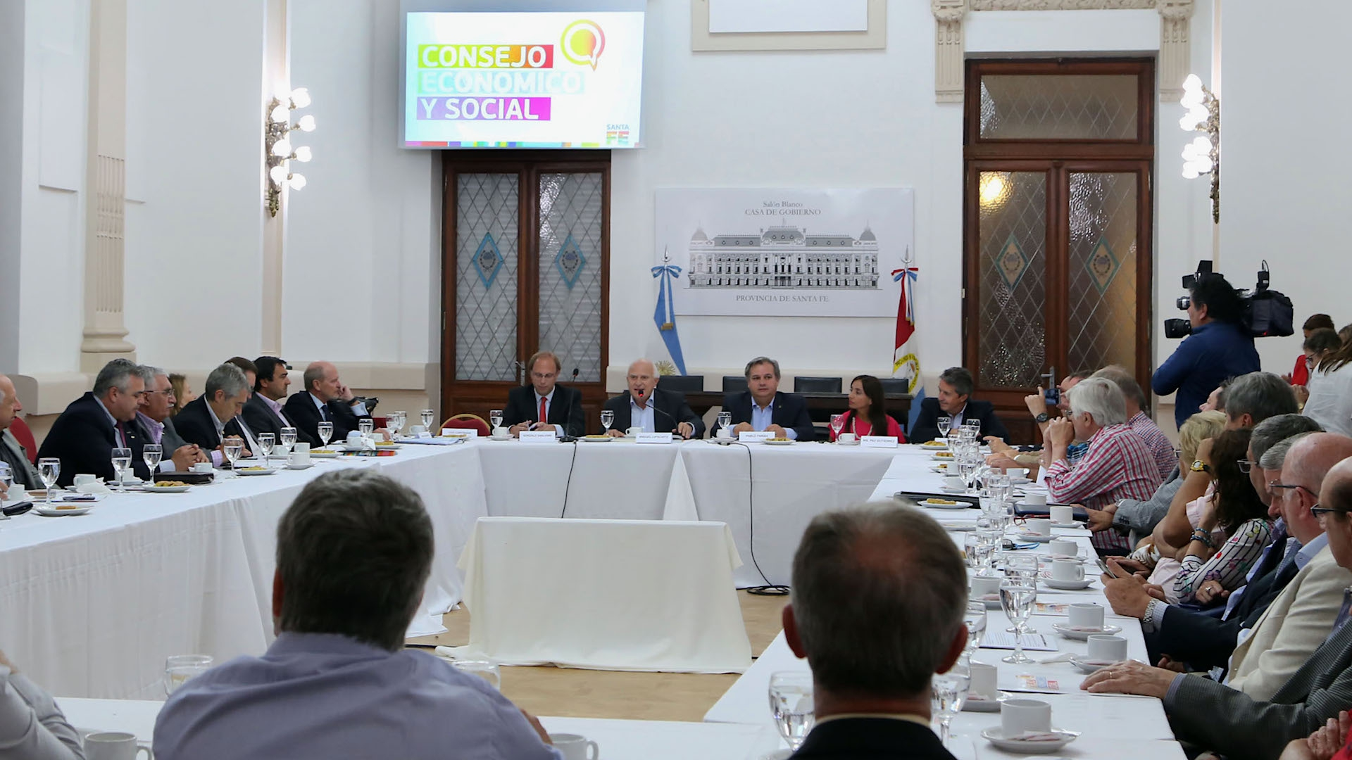 Lifschitz presentó la propuesta de consenso fiscal y el presupuesto provincial